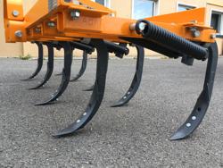 cultivateur à ressorts 215cm pour tracteur préparation de la terre mod de 215 9 v