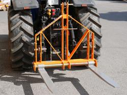 lève palettes pour tracteur d 700