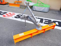 lame niveleuse 110cm pour tracteur kubota iseki mod dl 110