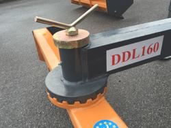 lame niveleuse déportable 160cm pour attelage 3 points tracteur mod ddl 160