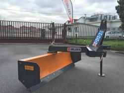lame niveleuse déportable robuste pour tracteur largeur 170cm mod ddl 175