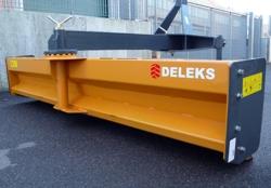 lame niveleuse déportable 225cm série lourde pour attelage tracteur mod ddl 225