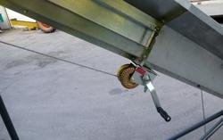 tapis monte bois hydraulique pour tracteur mod ntl