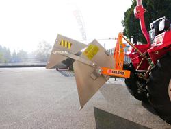 godet à basculement hydraulique 140cm pour tracteur modèle pri 140 l