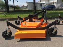 tondeuse portée 3 lames pour tracteur kubota iseki ect mod dm 150