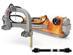 broyeur à marteaux d accotement pour tracteur modèle deleks