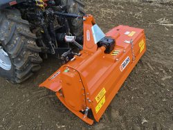 rotovator pour tracteur série moyenne 150cm de travail déport manuel mod dfm 150