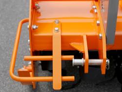 fraise rotative lourde pour tracteur série professionnelle modèle dfh 135