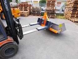 godet bennette 140cm pour chariot élévateur série légère modèle prm 140 lm