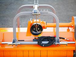 broyeur à marteaux hydraulique rino 180 pour résidus de taille