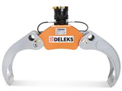 grappin à bois avec rotateur 360 continue modèle dk 16 gr 55ff
