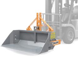 godet de chargement pour chariot élévateur capacité 700kg mod pri 160 hm