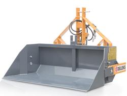 godet de chargement hydraulique renforcé pour tracteur modèle pri 140 h