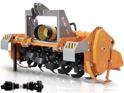 rotovator pour tracteurs déport hydraulique mod dfh idr 135
