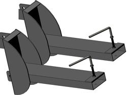 attelage chariot élévateur 140l