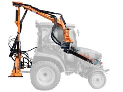 taille haie hydraulique pour tracteur à partir de 20cv mod falco 130 h