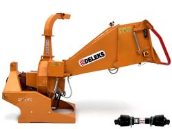 broyeur de branches à disque dk 1500 pour tracteur avec rouleau hydraulique