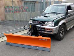 lame à neige pour véhicules off road 4x4 lns 190 j