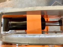 grappin coupeur hydraulique pour mini pelle mod cf 10