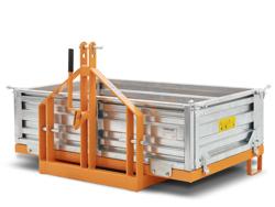 bennette de transport 200cm pour la terre graviers sables etc mod t 2000