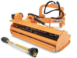 broyeur d accotement latéral alce 200 à marteaux pour tracteur