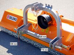 broyeur à marteaux puma 180 pour utilisation arrière ou frontale