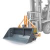 godets à basculement hydraulique ou mécanique pour chariot élévateur