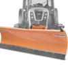 lames à neige avec plaque de fixation relevage hydraulique pour pelles et tracteurs deleks